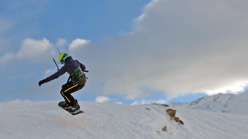 Snowkitekurs 1T Aufsteiger CH TB