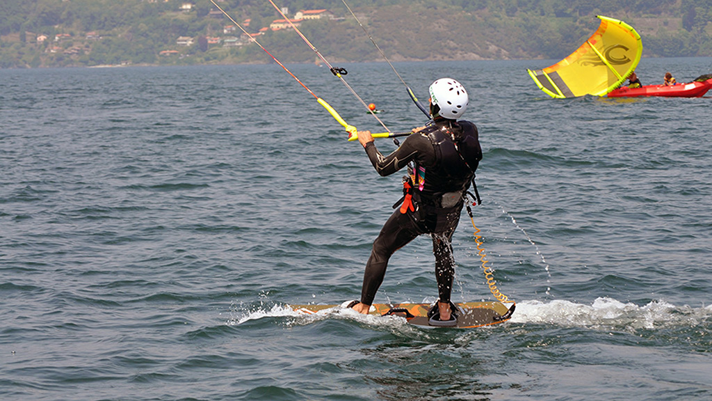 Kitesurf-Lernstufen 1-3